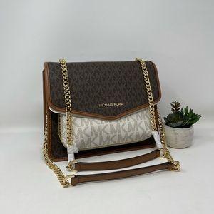 Michael Kors Regina Medium Flap Shoulder Bag